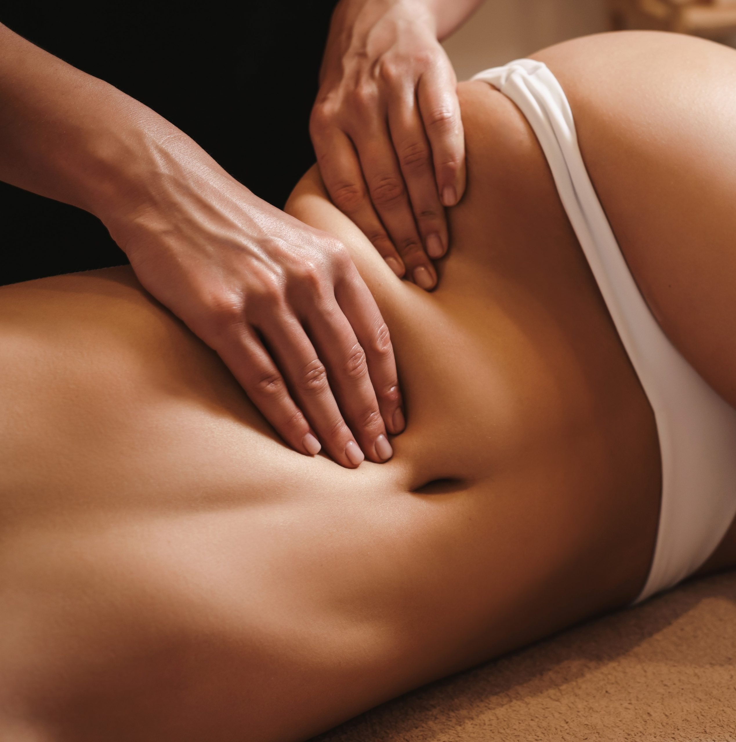 Slimming Massage A strong massage that helps reduce cellulite and improve body tone with a warming cream that also works as a slimming cream massage. We come to your home with massage table, linens, candles, music and oil.