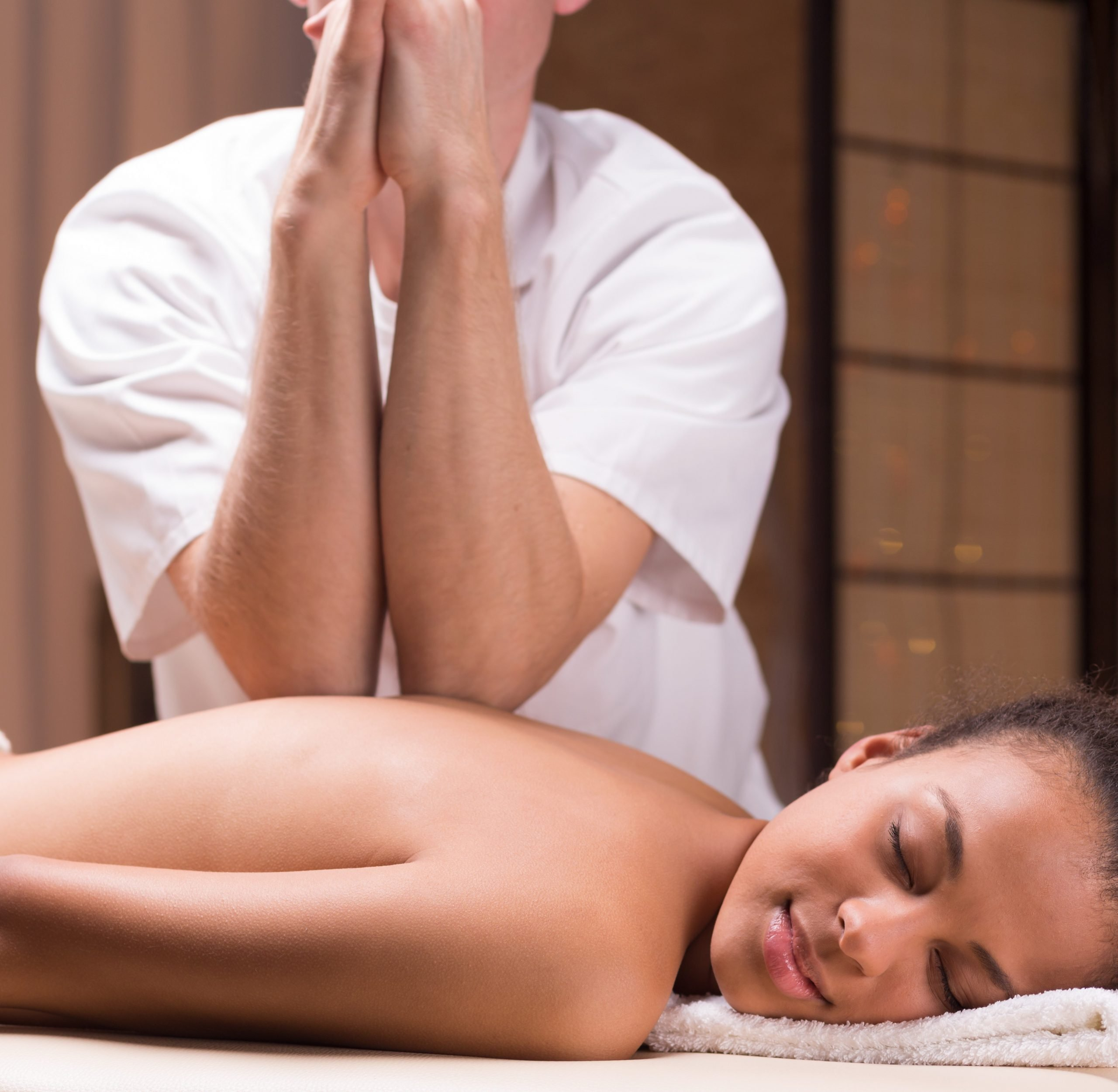 Thai Massage helps decrease muscle pain and stress with strong massage technique using palms and fingers. We come to your home with massage table, linens, candles, music and oil.