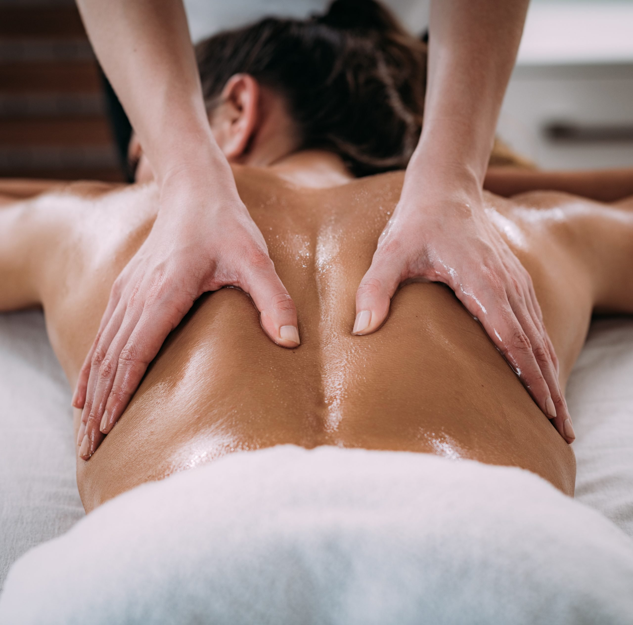 Deep Tissue Massage Works the deeper layers of the muscles to help with body aches and soreness. We come to